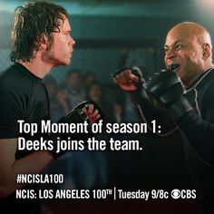 NCIS Los Angeles/Season One – Top Moment - and so our Ship set sail!