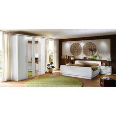 Schlafzimmer in Weiß: VENDA verzaubert mit stimmiger Optik
