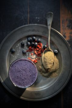 Superfood Smoothie - The Heathy Chef (it's not green but still good)