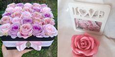 Vintage Ajándék Box - Virág Falu Box, Flowers, Plants, Pink, Vintage, Snare Drum, Plant, Vintage Comics, Royal Icing Flowers