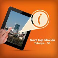 Agora a #MovidaRentACar também está presente na região do Tatuapé. Horário de funcionamento de segunda a sábado das 07:00h ás 20:00h.