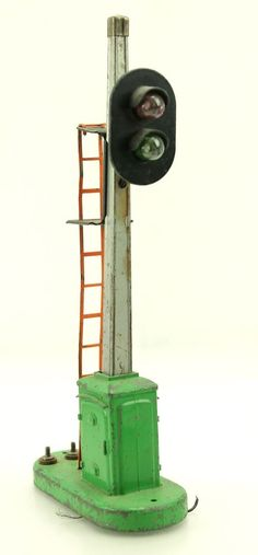 Vintage Lionel O Gauge Train BLOCK SIGNAL 153 Railroad Light #Lionel #weboys10