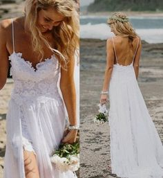 Boho Lace Wedding Dress Bohemian Wedding Boho Bridesmaids Dress