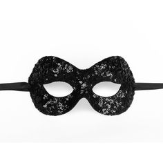 Sequined Shimmering Black Masquerade Mask - Venetian Style Glitter... ($25) ❤ liked on Polyvore featuring costumes, costume, mask, lady halloween costumes, masquerade costume, masquerade halloween costume, ladies halloween costumes and prom costumes