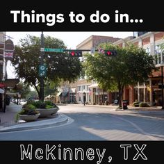 Things to do in...McKinney