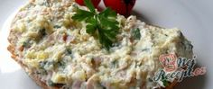 Recept Celerová pomazánka Quiche, Breakfast, Food, Kochen, Morning Coffee, Essen, Yemek, Morning Breakfast, Eten