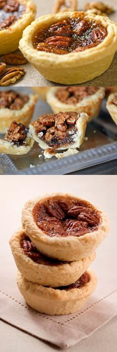 mini pecan pie tart recipe easy crust baking dessert thanksgiving winter christmas holidays dessert on the go snack easy grandmas recipe better baking bible blog