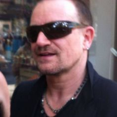 Bono outside Electric Lady Studio in New York City on October 2, 2013. #u2NewsActualite #u2NewsActualitePinterest #u2 #bono #PaulHewson #2013 #new #news #actualite #rock #music #picture #NewYork #studio    u2yness.tumblr.com/