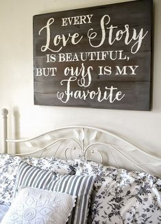 Crazy Ideas Can Change Your Life: Master Bedroom Remodel Attic Spaces guest bedroom remodel ideas.Old Bedroom Remodel Barn Doors bedroom remodel ideas space saving. Wood Artwork, Artwork Ideas, Pallet Signs, Diy Signs, My New Room, Home Projects, Wood Crafts, Diy Wood, Love Story