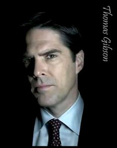 """There are a few cute animals, the odd art, but It's mostly Thomas Gibson. """"I just want to rock and roll all night, and part of every day. Thomas Gibson, Hotch Criminal Minds, Behavioral Analysis Unit, Dr Reid, Aaron Hotchner, Crimal Minds, John Stamos, Matthew Gray Gubler, Tv Actors"""