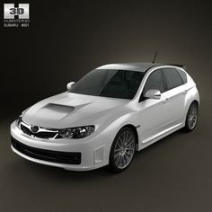Subaru Impreza WRX STI 2010 3d model from humster3d.com. Price: $75