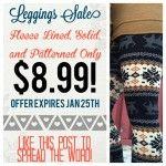 Leggings, Leggings and MORE Leggings Printed, solid and fleece lined leggings! ONLY $8.99