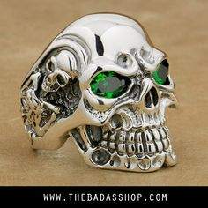 350f6b5b026c 12 Best Badass Skull Rings images