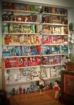 Toys and books | 25 Soothing Collections Organized ByColor
