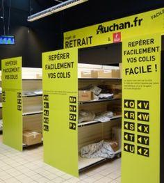 """JDN / ARTICLE / """"Visite de l' #hypermarche pilote de la cellule #innovation d' #Auchan """" #ClickAndCollect #MobilePayment #TPE #Collaboratif #iBeacon #Geolocalisation des produits en magasin #retail #instore #digital #digitalisation"""
