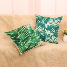 Cheap cushion game, Buy Quality cushion guard directly from China pillow factory Suppliers: Tropic coconut Tree Cotton Linen cushion Throw Pillows Case Cover Square Pillow Throw Cushions, Throw Pillow Cases, Cotton Linen, Coconut, Tropical, Home And Garden, Xmas, Button, Weihnachten