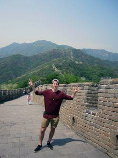 ¡Libertad Total en la Gran Muralla China!  George Guilarte  #MiMomentoStoked2014