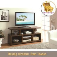 Coaster TV Stands Casual TV Console with Open Storage - Coaster Fine Furniture Home Entertainment, Tv Stand And Entertainment Center, Entertainment Furniture, Quality Furniture, Custom Furniture, Build A Tv Stand, Living Room Furniture, Home Furniture, Furniture Removal