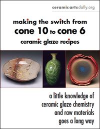 Free PDF download!  If you want to convert cone 10 glaze recipes to cone 6, you'll need to know something about glaze chemistry and the materials that work best at those different temperatures. If you just want to start with established cone 6 recipes, which is often a lot easier, there are now many... Read More »