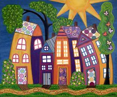 Happy Town ~ by Lisa Frances Judd