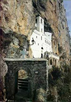 Serbian Orthodox Monastery of Ostrog, Montenegro