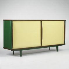 Standard cabinet, Manufactured by Les Ateliers Jean Prouvé, France, c.1955