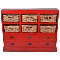 I pinned this Nantucket Cabinet in Red from the Jeffan event at Joss and Main! Nantucket, Living Tv, Living Room, Small Living, Mahogany Sideboard, Up House, Joss And Main, Storage Drawers, Storage Baskets