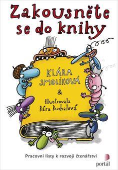 Zakousněte se do knihy Language, Education, Reading, Books, Fictional Characters, English, Logo, Literatura, Dyslexia