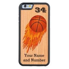 30% OFF All MOBILE Devices til 12-31-2014 11:59PM Zazzle Discount CODE: GIFTACASE014 Flaming Basketball iPhone 6 Cases with your Name and Number PERSONALIZED Carved® Cherry iPhone 6 Bumper   Click:  http://www.zazzle.com/flaming_basketball_iphone_6_cases_personalized_carvedcase-256753866924398119?rf=238147997806552929   See ALL iPhone Sports Cases  Click Here:  http://www.zazzle.com/littlelindapinda/gifts?cg=196413562739864280&rf=238147997806552929    CALL Linda for HELP, Changes…