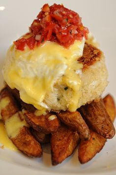 south city kitchens crab cake hash were telling you - South City Kitchen