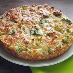 Cauliflower And Broccoli Cake (via www.foodily.com/r/KkwAixN7F-cauliflower-and-broccoli-cake-by-kitchenist)