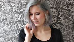 Ive had a love affair with gray hair for a long time now, but whenever I brought it up with my (very blonde) mom shed say something like, ...You think gray is pretty, but wait till youre old!... Though Ive had numerous shades of silver, white, and pastel hues over the years, her words have somehow managed to make me shy away from gray. Well, until now. Ive been going through a lot of changes lately, and my hair has reflected that more than ever. ...