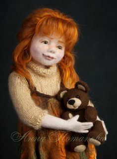 Hey, I found this really awesome Etsy listing at https://www.etsy.com/listing/255638332/needle-felted-doll-alisa