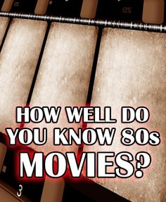 I Got 80s Movie Master!!! Great job! From The Breakfast Club, to Predator, to E.T., and Ferris Bueller, you know your 80s movies! To pass this test you need to have a very diverse 80s movie-viewing history, from comedy, to action, to drama, and more – and you nailed it! You are obviously a movie lover, and you proved your amazing knowledge on this challenging quiz! Do you think your friends and fellow movie lovers can master this quiz too? Share it and let's see if they can match you!