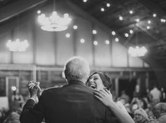 10 Unexpected Father-Daughter Dance Song Ideas   Photo by: Christina Lilly Photography   TheKnot.com