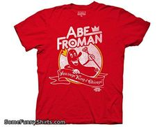 Ripple Junction Ferris Bueller's Day Off Abe Froman Adult T-Shirt 2XL Red
