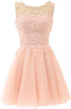 Okaybridal Sleeveless Tulle and Lace Open Back Short Prom Dresses OkayBridal http://www.amazon.com/dp/B0148UJFYO/ref=cm_sw_r_pi_dp_E-w3wb0K5T4S2