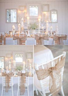 Revenu à la mode, les matières naturelles comme le jute ou le lin trouvent de plus en plus leur place dans nos mariages. Pour de l'authenticité et du naturel, craquez pour ces matières brutes et élégantes. Pour décorer une table de mariage, privilégiez...
