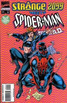 Spider-Man 2099 # 33 by Andrew Wildman & Stephen Baskerville