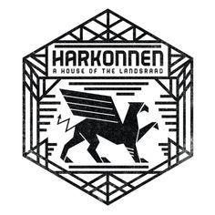 House Harkonnen - Fan-art Concept-Deisgn House Sigil #Dune