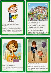 Pairs take turns asking the questions Speech Language Therapy, Speech And Language, Speech Therapy, Teachers Corner, Classroom Language, Aspergers, How To Speak Spanish, Reading Material, Read Aloud