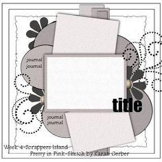 3H - Julie's Scrapping Fun: Week 4 of Scrapper's Island