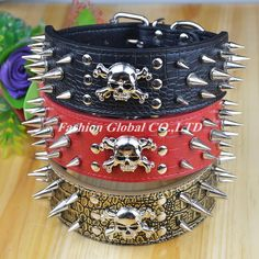 High Quality Pet Products Spiked Studded PU Leather Dog Pet Collar for Big Dogs PitBull Mastiff - Like this? click here:  http://www.dogcollarsshop.com/product/high-quality-pet-products-spiked-studded-pu-leather-dog-pet-collar-for-big-dogs-pitbull-mastiff/