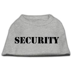 Mirage cat Products 16-Inch Security Screen Print Shirts for cats, X-Large, Grey with Black Text * You can get more details here : Cat sweater