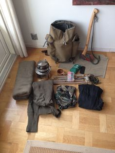 Bushcraft gear for wintertime