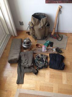 Bushcraft gear for wintertime