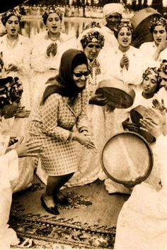 #OldPhoto of #OmKulthoum in #Morocco, 1968. #Islam #Egypt