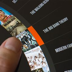 iPad Roulette menu design by Miguel Oliva Márquez. - Best Mobile Designers In The World | Scoutzie