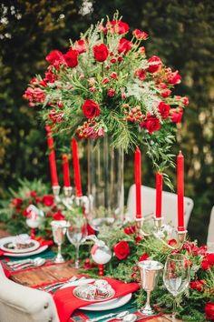 Wedding Color Trends 2016: Pantone Fiesta Red Wedding Ideas   http://www.deerpearlflowers.com/wedding-color-trends-2016-pantone-fiesta-red-wedding-ideas/