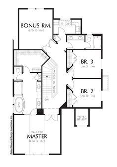 main floor plan of mascord plan 2469 the tualatin mascord house plan 1240 the hampton